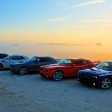 Challengers in the mist